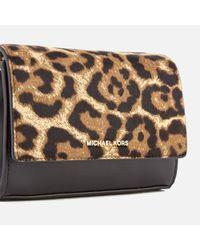 MICHAEL Michael Kors Red Women's Ruby Medium Clutch Bag