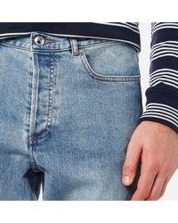 A.P.C. - Blue Standard Jeans for Men - Lyst