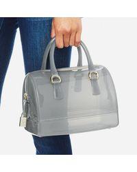 Furla - Gray Women's Candy Cookie Satchel Bag - Lyst