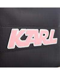 Karl Lagerfeld Black Women's K/sporty Pouch