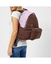 Eastpak - Brown X Raf Simons Men's Rs Padded Pak'r Backpack - Lyst