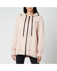 Adidas By Stella McCartney Pink Asmc Sportswear Hooded Sweatshirt