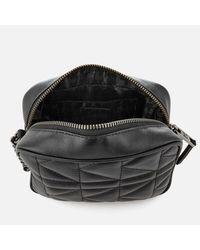 Karl Lagerfeld Black Women's K/kuilted Cross Body Bag