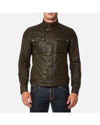 Belstaff Green Men's Racemaster Blouson Jacket for men