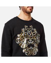 Versace Black Activewear Sweatshirt for men