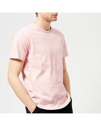Champion - Pink Men's Short Sleeve Logo Tshirt for Men - Lyst