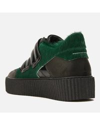 MM6 by Maison Martin Margiela - Green Women's Multi Colour Trainers - Lyst