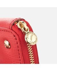 Aspinal Red Women's Heart Coin Purse