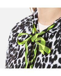 Marc Jacobs Multicolor Women's Leopard Print Hooded Jacket