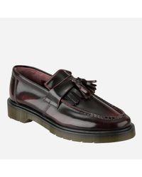 Dr. Martens Brown Men's Adrian Tassel Leather Loafers