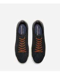 Cole Haan Black Men's Grandprø Stitchlite Tennis Sneaker for men
