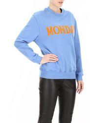 Alberta Ferretti Orange Monday Sweatshirt
