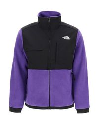 The North Face Purple Denali Blouson Sweatshirt for men