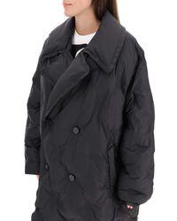 Maison Margiela Black Longline Down Jacket