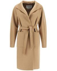 Max Mara Brown Lilia Cashmere Coat