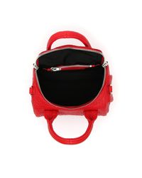 Alexander Wang - Red Mini Rockie Oyster Soft Pebble Leather Bag - Lyst