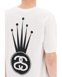 Stussy White T Shirts for men