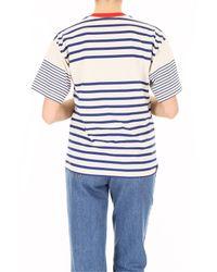 Philosophy Blue Striped T-shirt