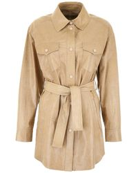 DROMe Natural Leather Saharian Jacket