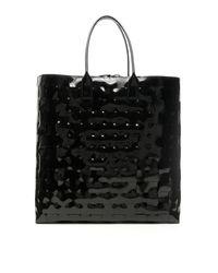 SHOPPING EXTRA-LARGE MAXI INTRECCIO di Bottega Veneta in Black