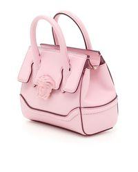 Versace Pink Palazzo Empire Shoulder Bag