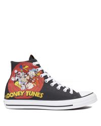 Converse Black Chuck Taylor All Star Looney Tunes for men