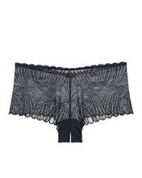 Cosabella Black Minoa Naughtie Hotpant