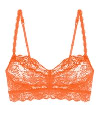Cosabella Orange Never Say Never Sweetie™ Lace Bralette