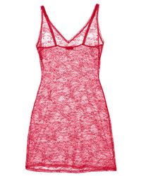 Cosabella - Pink Trentatm Lace Slip - Lyst