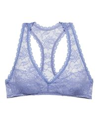 Cosabella | Blue Never Say Never Racie Racerback Bralette | Lyst