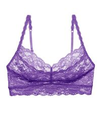 Cosabella Purple Never Say Never Sweetie Bralette