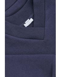 COS Blue V-neck Sweatshirt for men