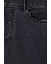 COS Gray Denim Shorts for men