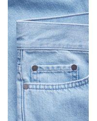 COS Blue Denim Shorts for men