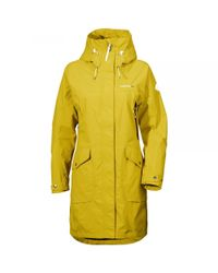 Didriksons - Yellow Thelma Womens Parka - Lyst