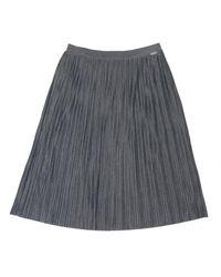 BOSS by Hugo Boss Gray Casual Tabell Skirt