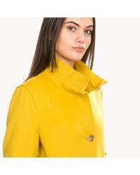 BOSS by Hugo Boss Yellow Ojulie Coat