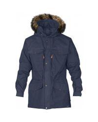 bd4e958220e Fjallraven Singi Winter Jacket in Blue for Men - Lyst