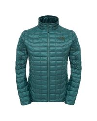 The North Face - Green Thermoball Mens Full Zip Jacket for Men - Lyst