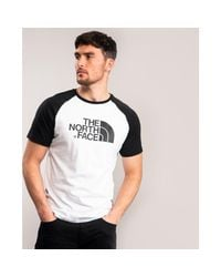 The North Face Black S/s Raglan Easy Tee for men