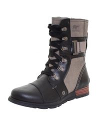 Sorel - Black Major Carly Waterproof Boot (women) - Lyst