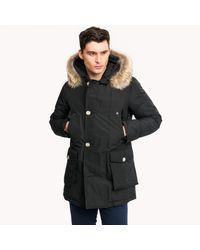 Woolrich Black Arctic Parka Jacket for men