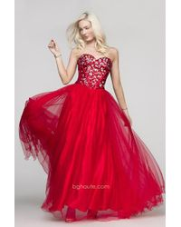 BG Haute | G Dress In Red | Lyst