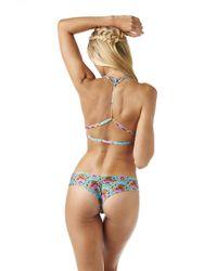 Montce Swim Multicolor Montezuma Braided T-top X Preview Bottom Bikini
