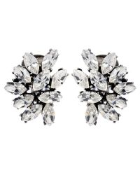 Ben-Amun - Multicolor Crystal Cluster Rounded Earrings - Lyst