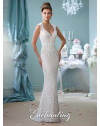 Mon Cheri - White Enchanting By - Dress - Lyst