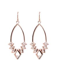 Rachael Ryen | Pink Diamond Deco Drops - Rose Gold | Lyst
