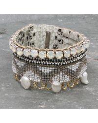 Deepa Gurnani - Metallic Jubilee Bracelet - Lyst