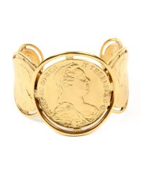 Ben-Amun - Metallic Moroccan Coin Cuff for Men - Lyst