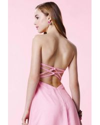 Alyce Paris Pink Homecoming - 3676 Dress In Cotton Candy
